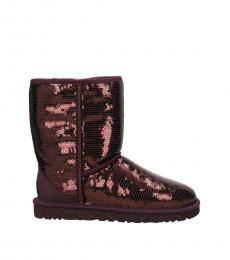 UGG Violet Ankle Sequin Boots