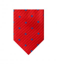 Ted Baker Blue-Red Circular Pattern Tie