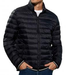 Midnight Hooded Packable Jacket