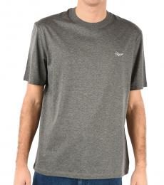 Grey Embroidery T-Shirt