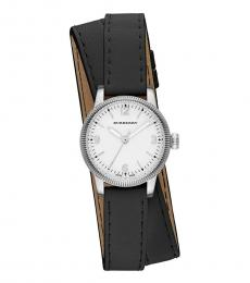 Black Utilitarian White Dial Watch