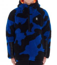 Marcelo Burlon Dark Blue Camouflage Jacket