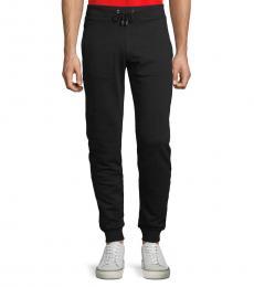 Versace Collection Black Classic Cotton Sweatpants