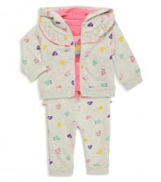 Juicy Couture 3 Piece Jacket/T-Shirt/Pants Set (Baby Girls)