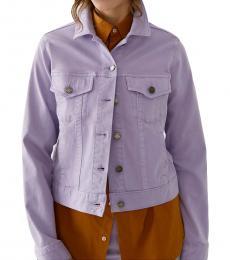 Lavender Denim Jacket