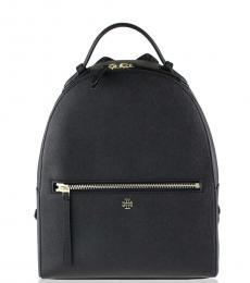 Tory Burch Black Emerson Medium Backpack