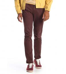 Cherry Adrien Slim Straight Jeans