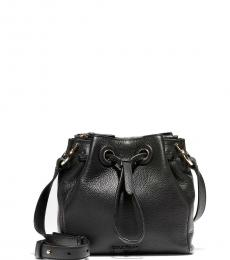 Cole Haan Black Grand Ambition Mini Bucket Bag