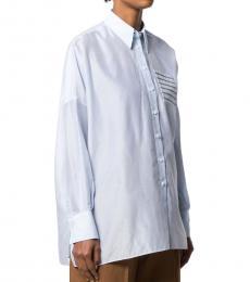 Brunello Cucinelli White V-Neck Sweater