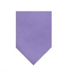 Calvin Klein Purple Two By One Tie