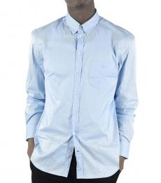 Emporio Armani Light Blue Classic Collar Shirt