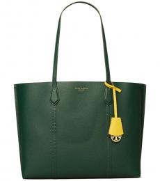 Tory Burch Pine Tree Perry Triple Compartment Large Tote