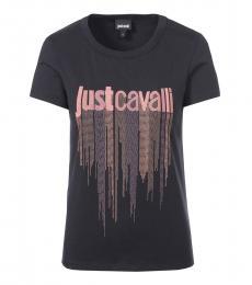 Black Gemstones Logo T-Shirt