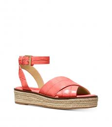 Michael Kors Pink Grapefruit Abbott Sandals