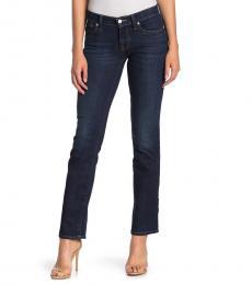 Dark Blue Low Rise Bootcut Jean
