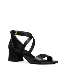 Black Diane Block Heels