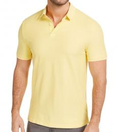 Yellow Stackable Regular-Fit Polo