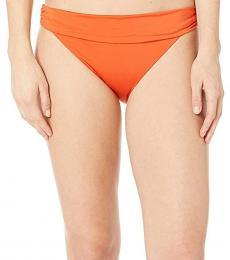 BCBGMaxazria Orange Core Solids Soft Band Hipster