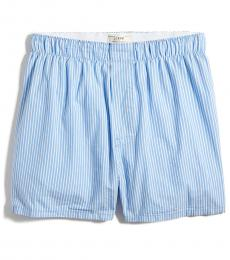 J.Crew Wes Stripe Blue White Striped Boxers
