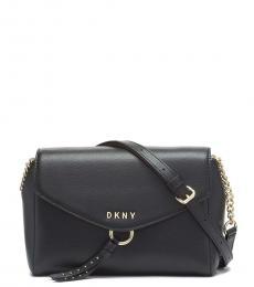 DKNY Black Lola Large Crossbody