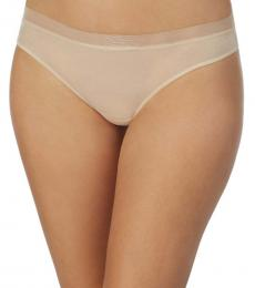 DKNY Natural Glossy Thong Underwear