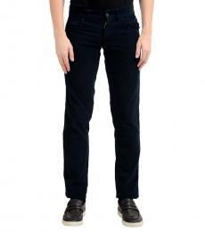 Navy Blue Corduroy Jeans