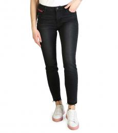 Armani Exchange Black Low Rise Skinny Jeans