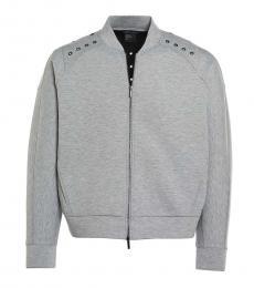 Armani Exchange Grey Studded Jacket