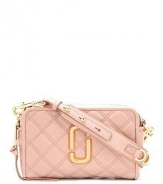 Light Pink Softshot Medium Crossbody