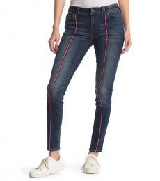 True Religion Denim Jennie Mid Rise Skinny Jeans