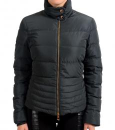 Versace Collection Black Goose Down Parka Jacket