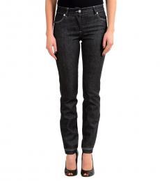 Versus Versace Dark Grey Slim Fit Jeans