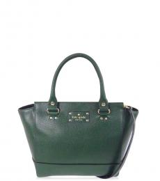 Kate Spade Dark Green Wellesley Small Satchel