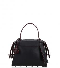 Tod's Black Piped Mini Satchel