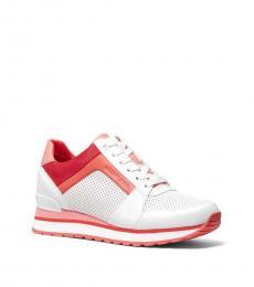 Grapefruit Billie Tri-Color Sneakers