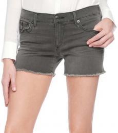 True Religion Grey Cut Off Shorts