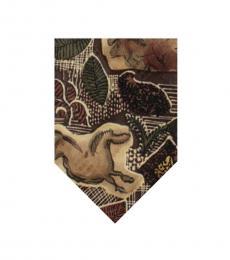 Brown Dapper Tie