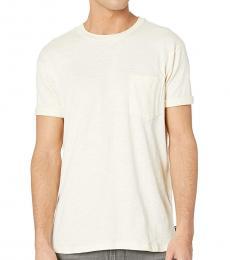 Off White Mesa Slub T-Shirt