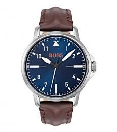 Hugo Boss Brown-Blue Chicago Watch