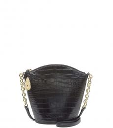 Black Lock Small Crossbody