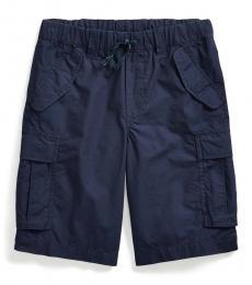 Boys Newport Navy Ripstop Cargo Short