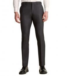 Dark Grey Suit Wool Pants