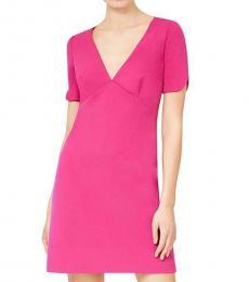 Betsey Johnson Pink Secret Mini Scuba Party Dress