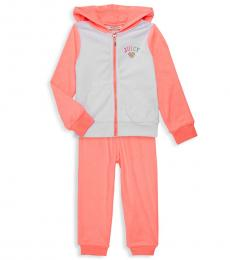 Juicy Couture 2 Piece Hoodie/Pants Set (Little Girls)