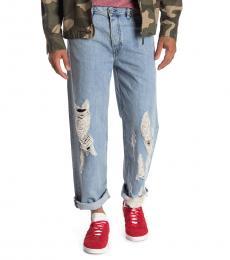 Blue Dagh Regular Straight Leg Jeans