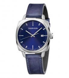 Calvin Klein Blue-Silver Frater Watch