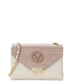 Mario Valentino Pearl Isabelle Medium Shoulder Bag