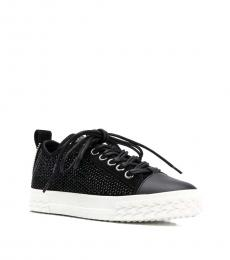 Black Blabber Low Top Sneakers