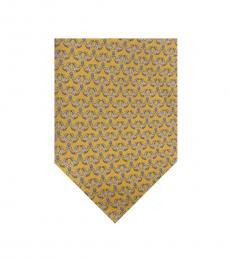 Salvatore Ferragamo Yellow Seal Classic Tie