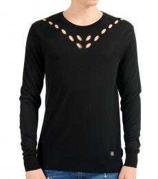 Versace Collection Black Crewneck Sweater